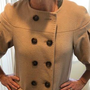 BCBG camel soft wool jacket